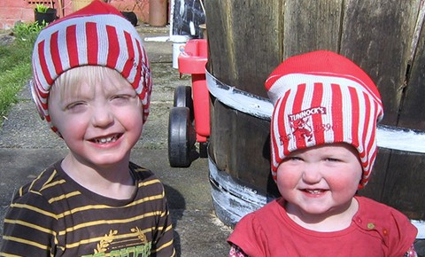 Tunnock's kids hats