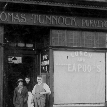 1912 Tearooms Opened