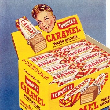 1952 The Caramel Wafer was born