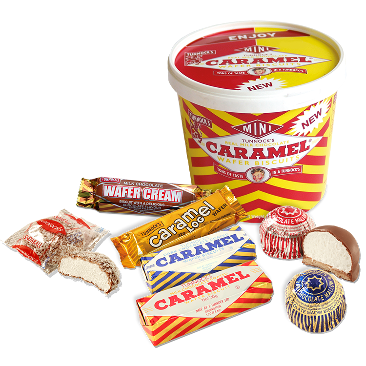 Tunnock's products variety