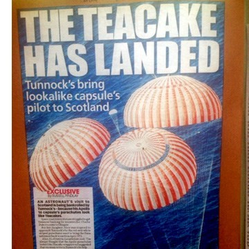 2010 The teacake has landed