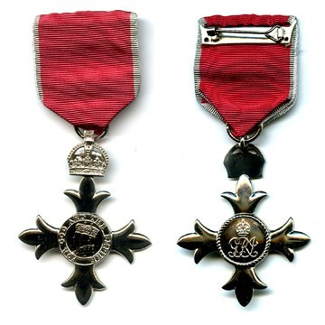 1987 Boyd awarded an MBE